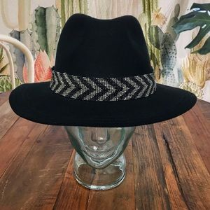 Tribal Beaded Panama Hat